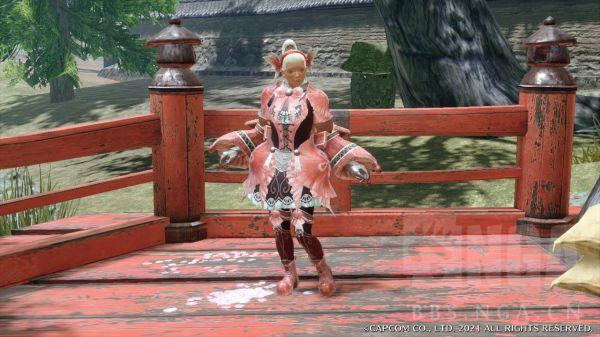 魔物獵人崛起-2.0版蟲棍魔法少女配裝 5