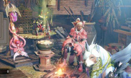 魔物獵人崛起-2.0版蟲棍魔法少女配裝