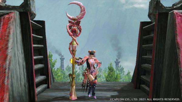 魔物獵人崛起-2.0版蟲棍魔法少女配裝 17