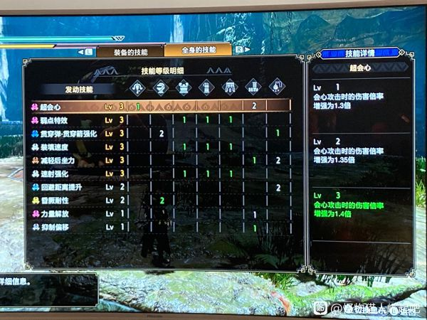 魔物獵人崛起-2.0版迅龍輕弩配裝建議 3