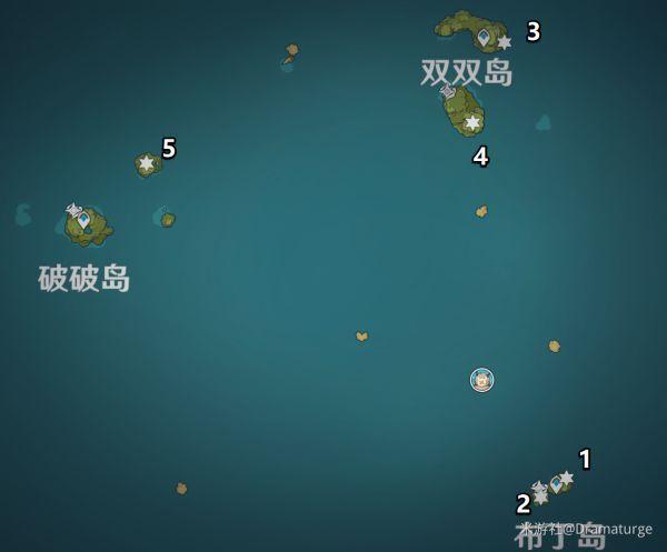 原神-回聲海螺第一日收集攻略 1