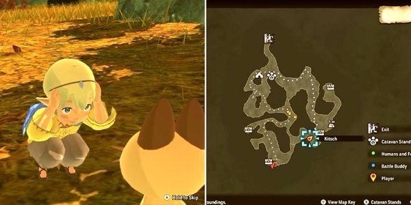 魔物獵人物語2破滅之翼-迷路的孩子位置分享 5