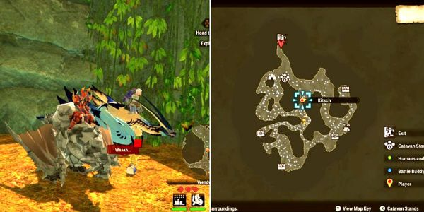 魔物獵人物語2破滅之翼-迷路的孩子位置分享 1